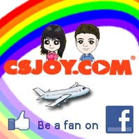 Be a fan on our Facebook CSJOY.COM